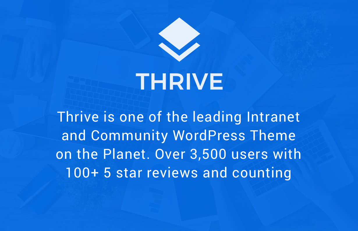 Thrive - Intranet/Extranet/Community WordPress Theme