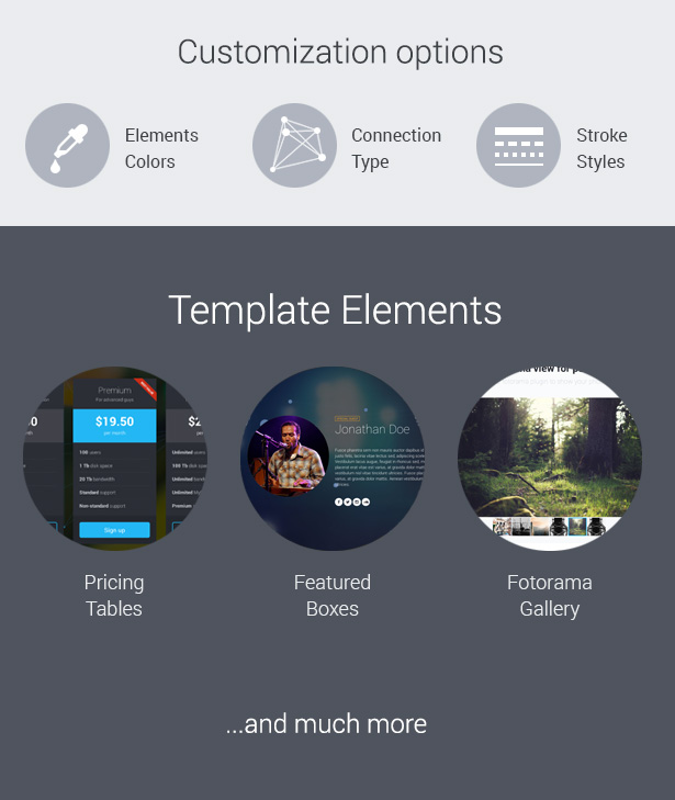 Zbz Splash Interactive OnePage Template By Slid ThemeForest - Splash website templates