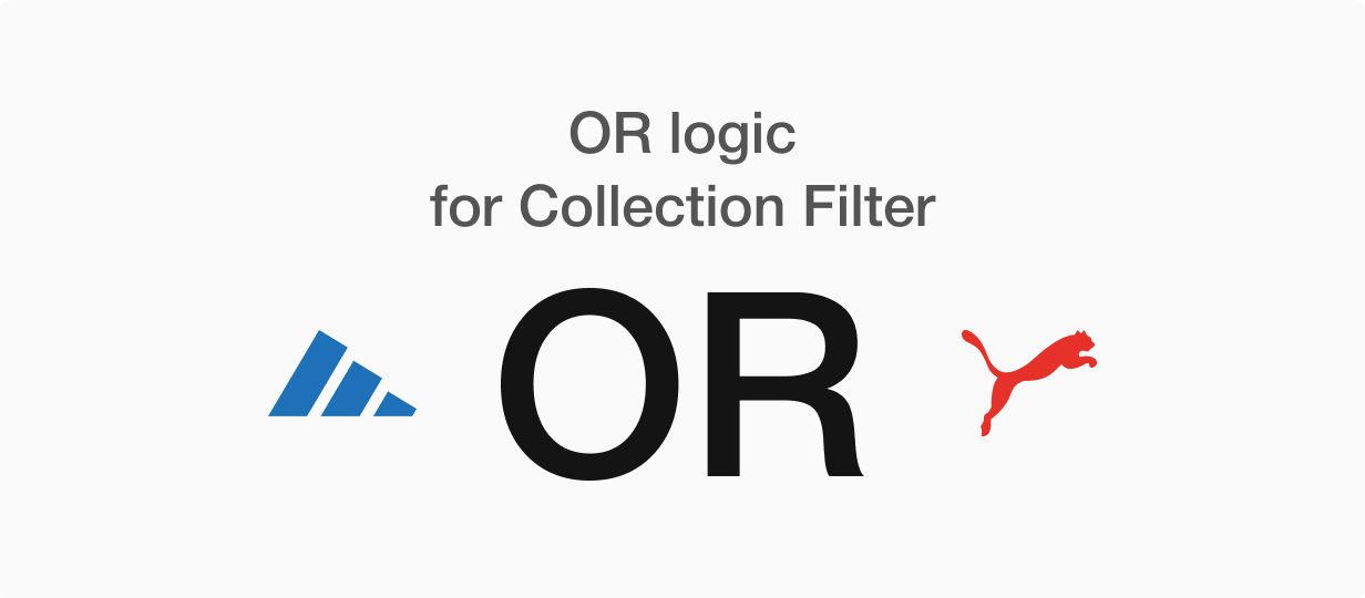 OR logic for filters