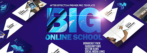 Online School Education Pack After Effects & PP
