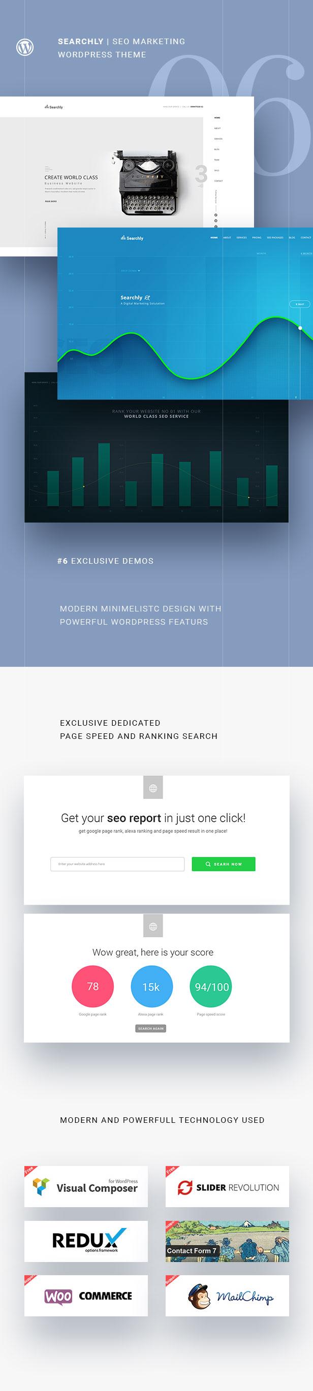 Searchly | SEO Marketing WordPress Theme - 4