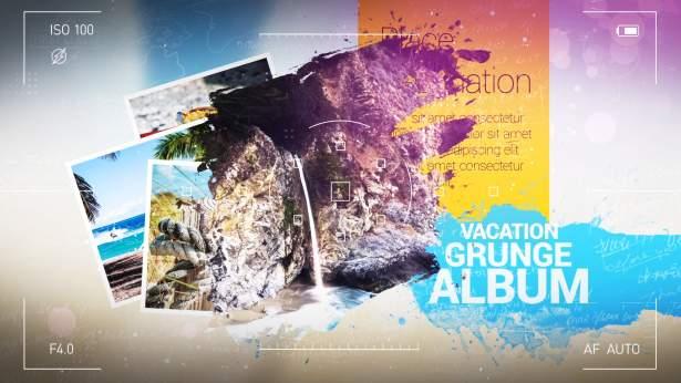 Videohive Vacation Grunge Album 20196804