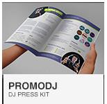 PromoDJ - DJ Press Kit template