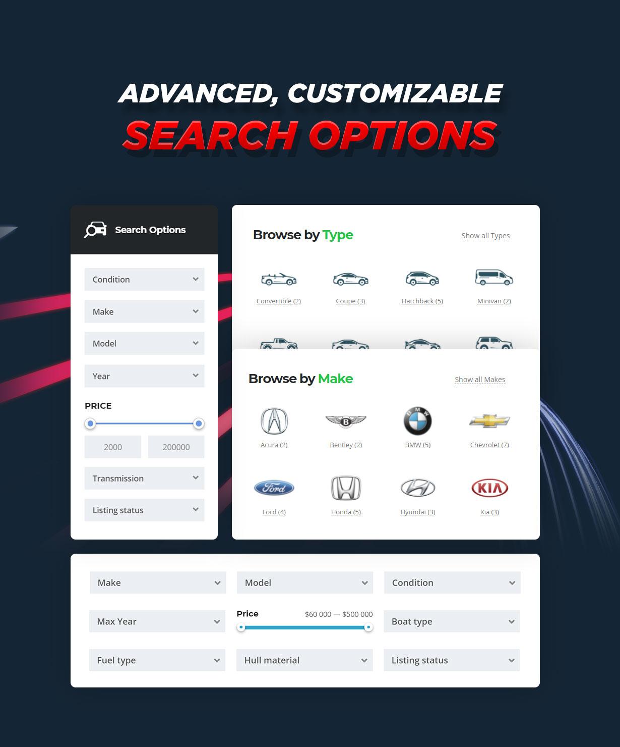 Motors - Car Dealer, Rental & Listing WordPress theme - 3