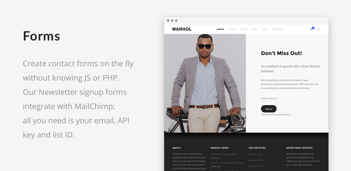 Warhol - Creative Multipurpose HTML Template - 5
