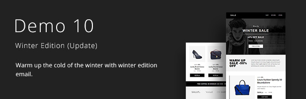 Deluxe - Fashion Store & Ecommerce Email Newsletter Template 10 Layout - 11