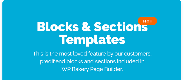 airpro theme page elements - blocks and section templates