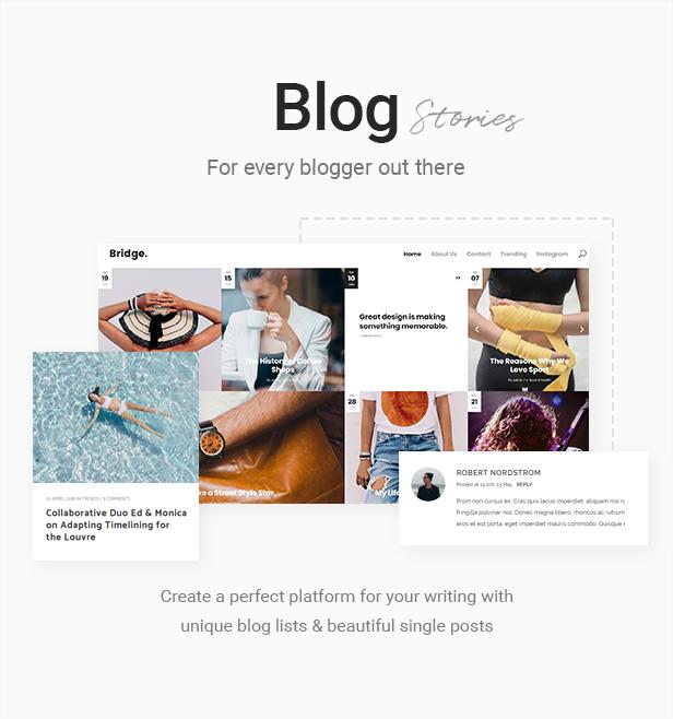 Bridge Creative Multipurpose Wordpress Theme By Qode Themeforest