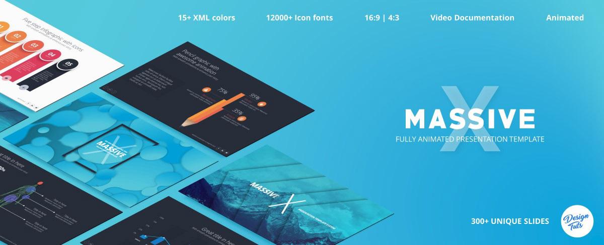 Massive X Presentation Template v.5.5 Fully Animated - 23