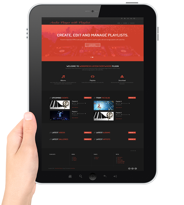 HTML5 Audio Player with Playlist for Wordpress - 19