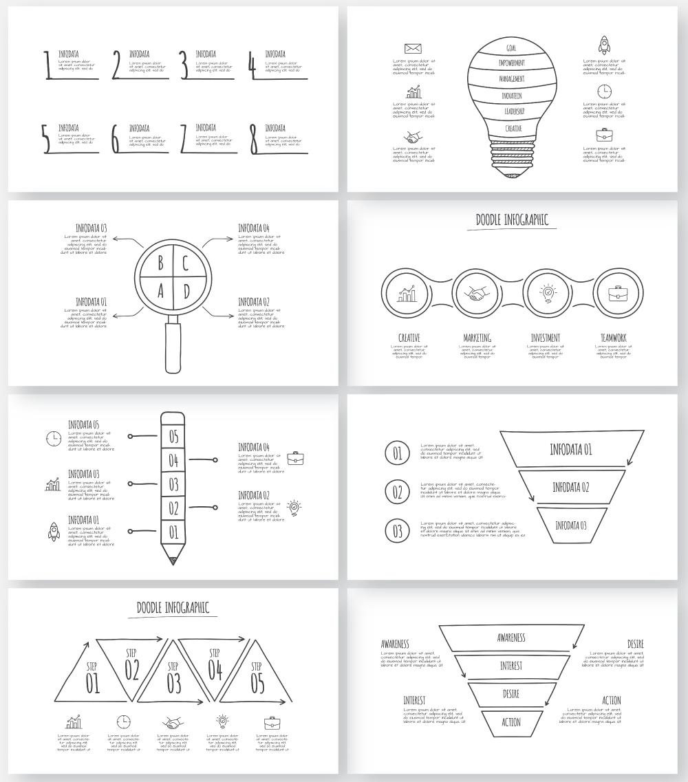 Multipurpose Infographics PowerPoint Templates v.5.0 - 153