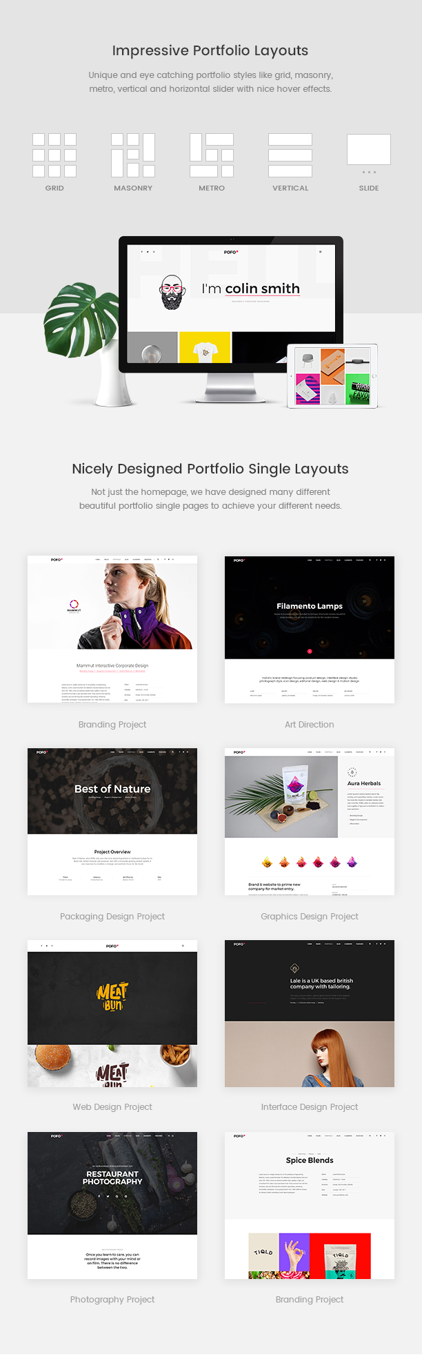 Pofo - Creative Agency, Corporate and Portfolio Multi-purpose Template - 9
