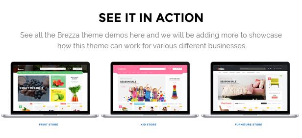 Brezza - Fruit Store Multipurpose WooCommerce WordPress Theme