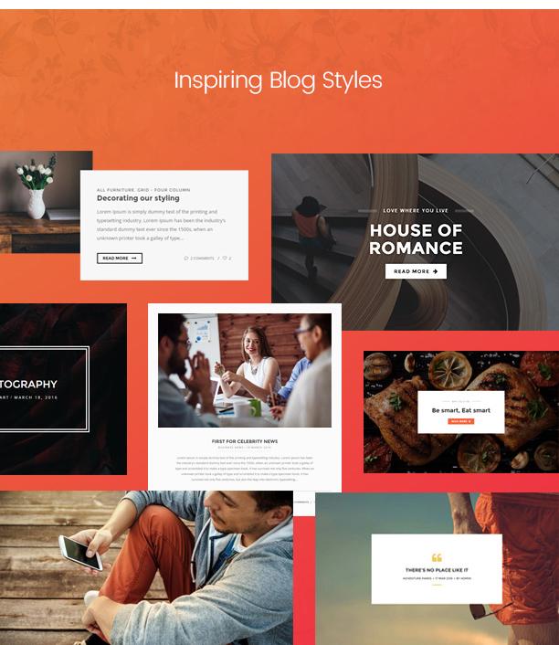 Paperio - Responsive and Multipurpose WordPress Blog Theme - 7