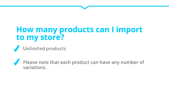 how many products