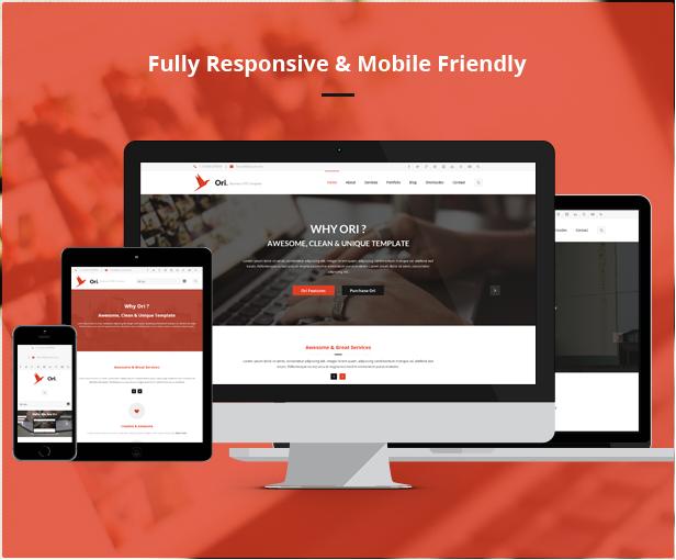 Ori – Multi-purpose Business HTML Template - 4