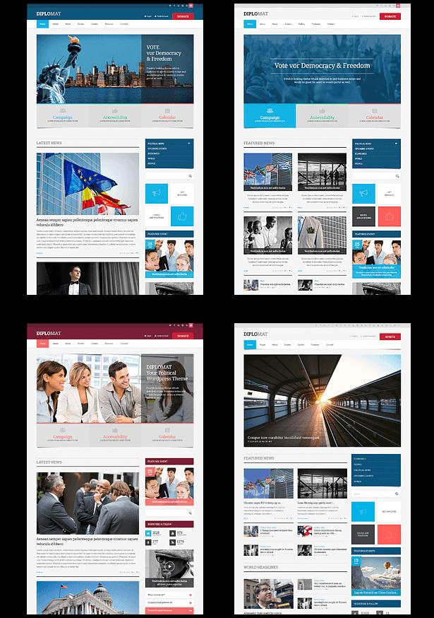 Political HTML5 Template