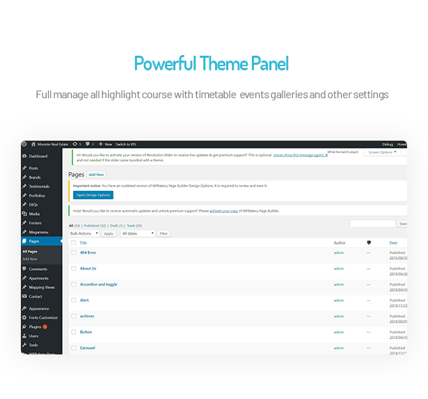 Ibble Education WordPress Theme with Powerful Theme Panel