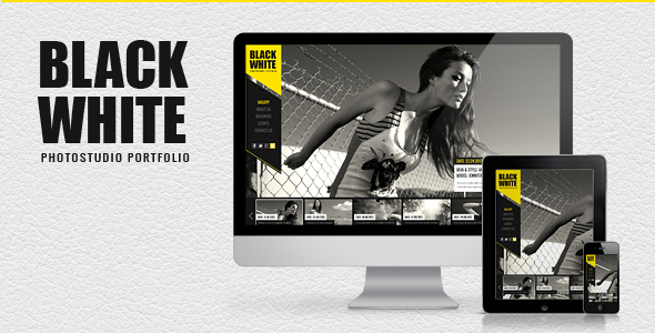 Black&White - Responsive Photo Portfolio