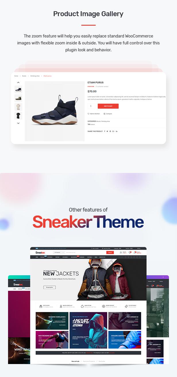 Sneaker - Shoes Theme for WooCommerce WordPress 27