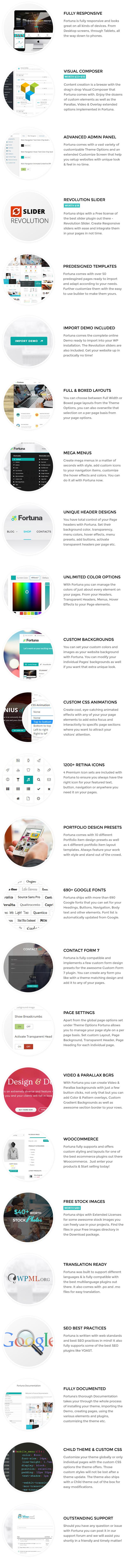 Fortuna - Responsive Multi-Purpose WordPress Theme - 15