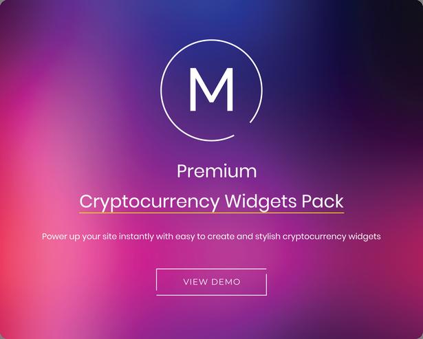 cryptocurrency widgets for wordpress