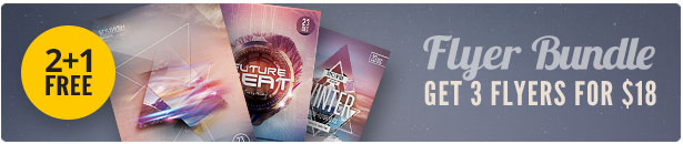 Futuristic Flyer Bundle