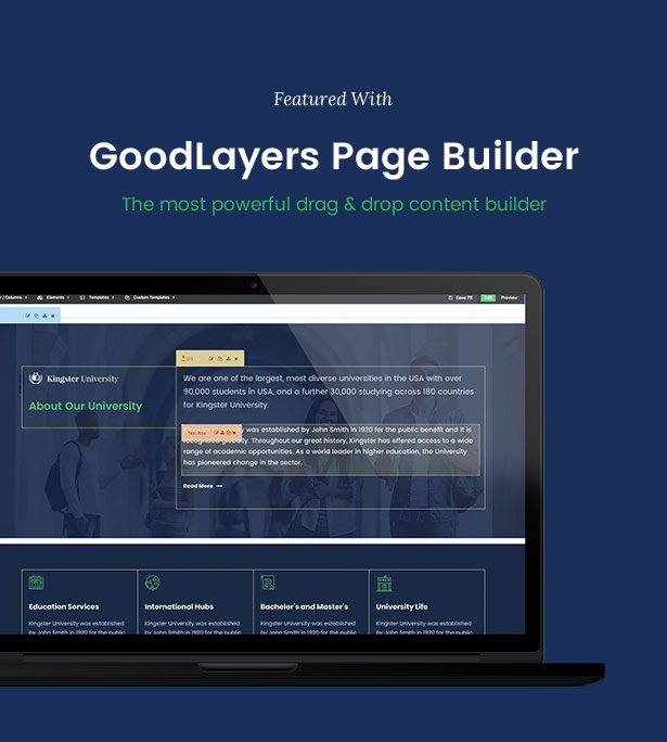Kingster - Education WordPress For University, College and School - 11