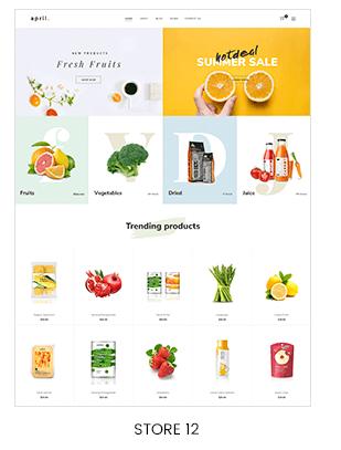 organic fruit store