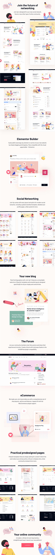 Join Up - BuddyPress Community Theme - 2