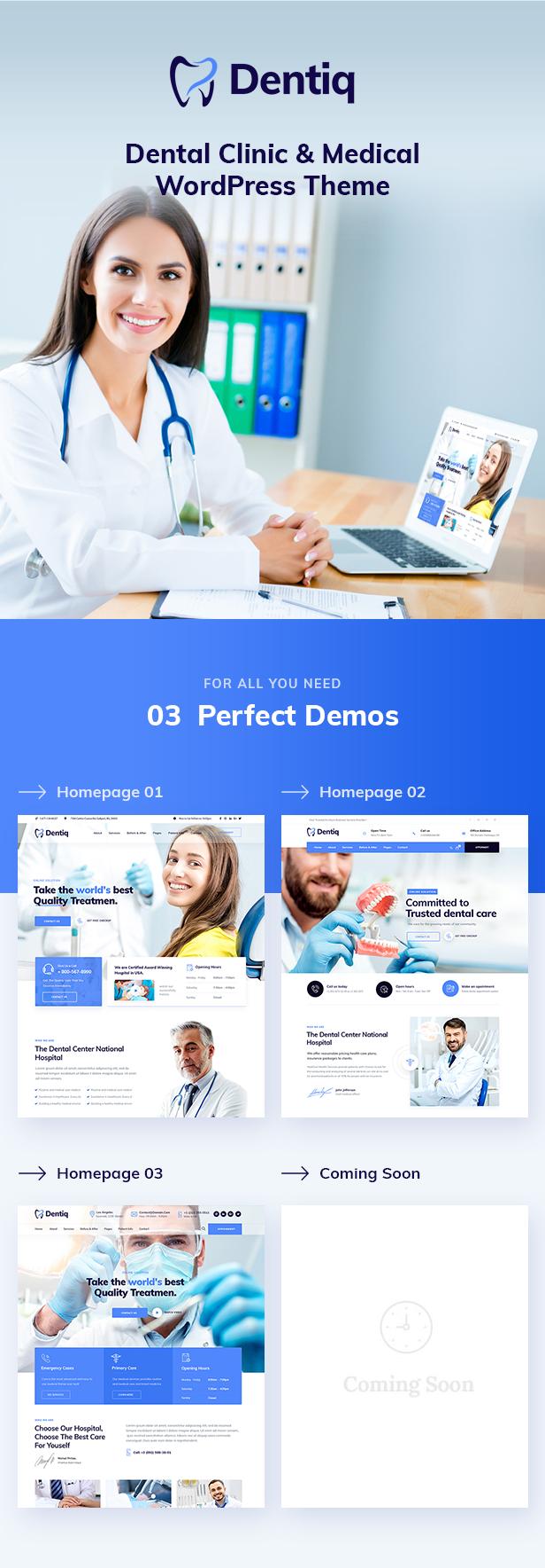 Dentiq WordPress Theme