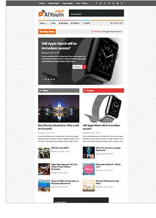 AlYoum   Retina Magazine and Blog WordPress Theme - 8