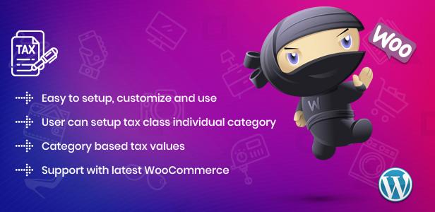 WooCommerce Tax Control WordPress Plugin