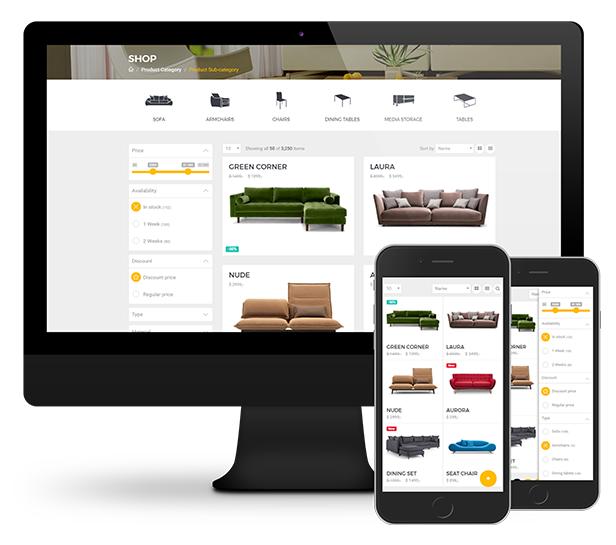 Mobel-简约漂亮的家具商城HTML模板