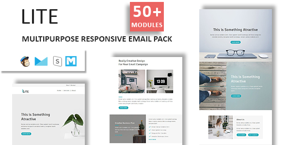 Marz - Multipurpose Responsive Email Template With StampReady Builder Access - 5