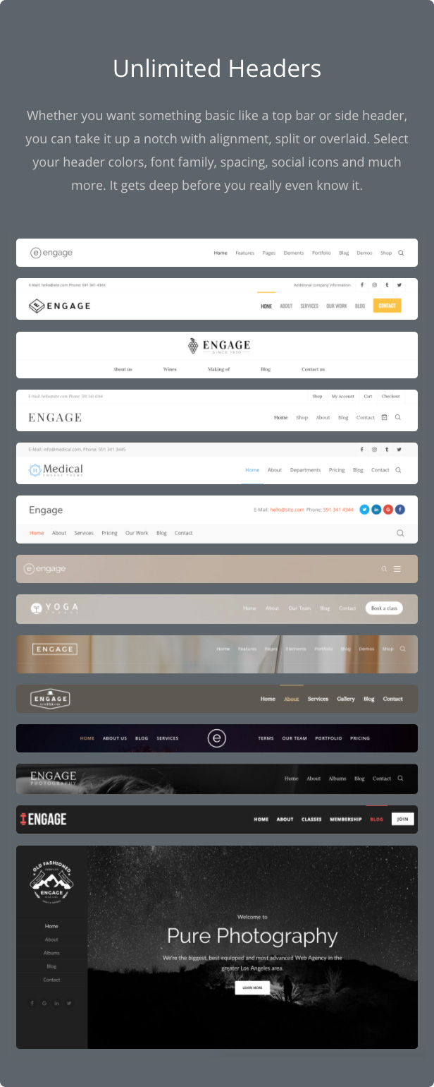 Engage - Responsive Multipurpose WordPress Theme - 17