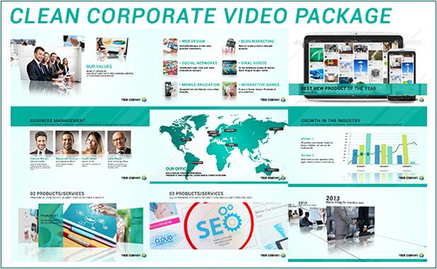 Modern Corporate Video Package - 9