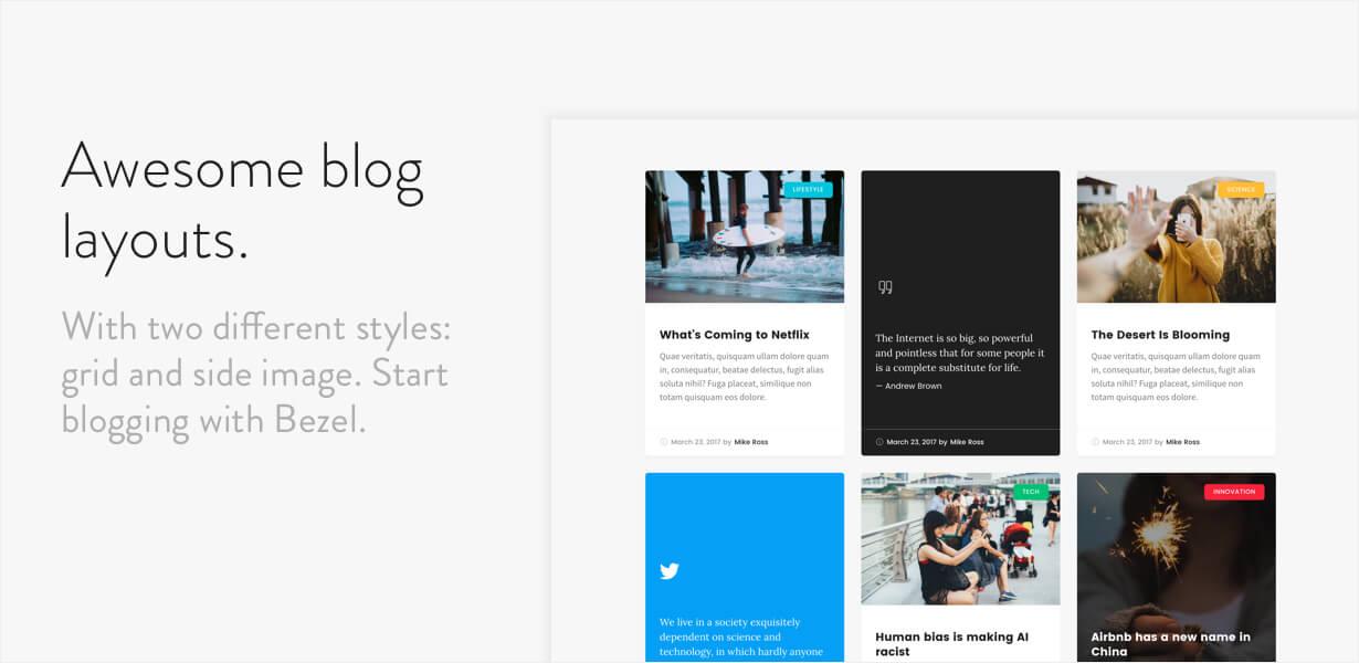 Bezel - Creative Multi-Purpose WordPress Theme - 6