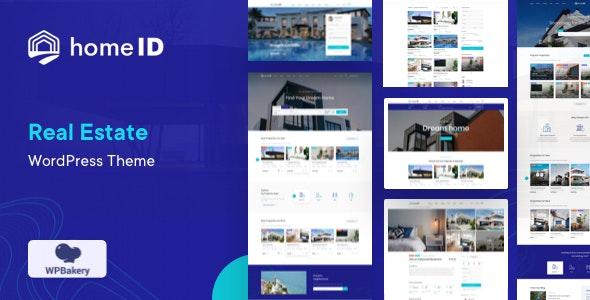 HomeID - Real Estate WordPress Theme
