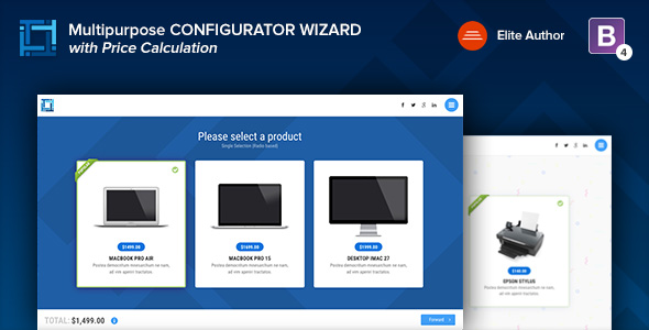 REVIEWER - Rating and Review Wizard HTML Template - 1