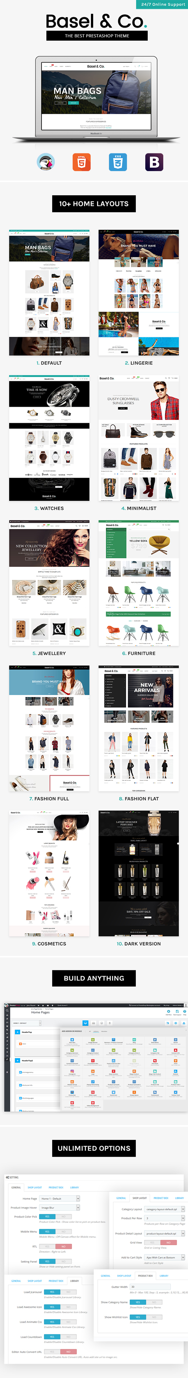 Basel Prestashop Theme