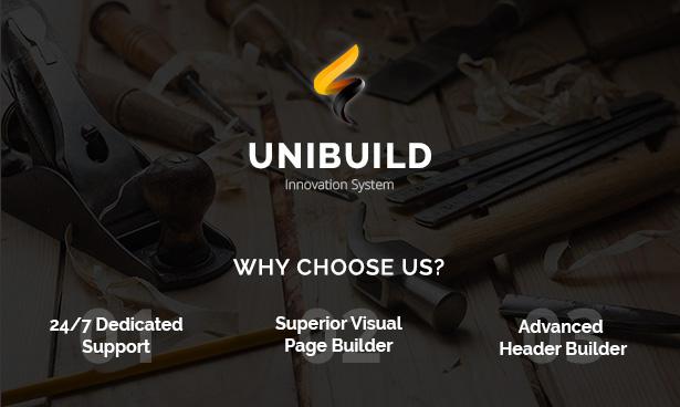 Unibuild | Technology Companies and Business WordPress Theme - 2