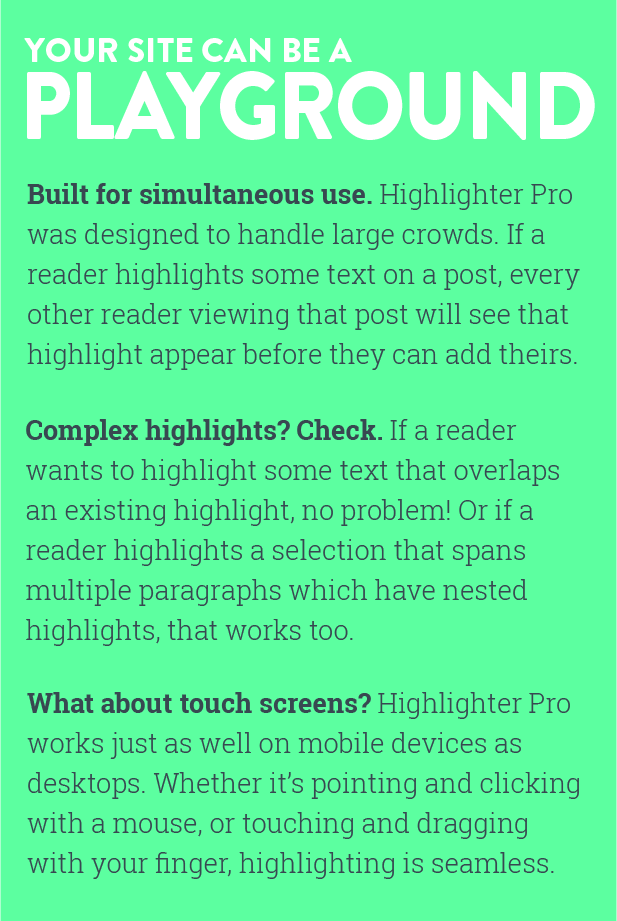 Highlighter Pro: A Medium.com-Inspired Text Highlighting and Inline Commenting Tool for WordPress - 9