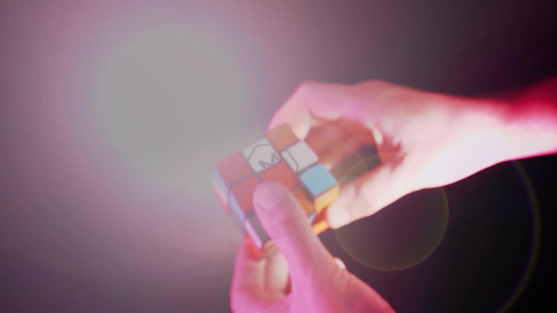 Rubik's Cube Logo Opener - 1