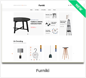 Furniki - Furniture Store & Interior Design WordPress WooCommerce Theme