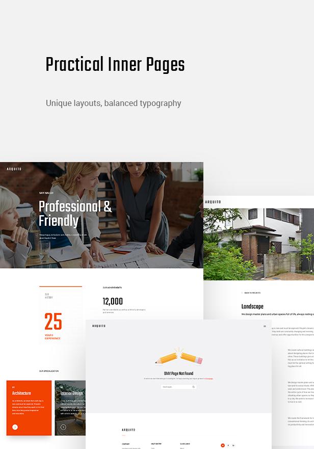 Arquito - 3D Architecture & Interior WordPress Theme - 10