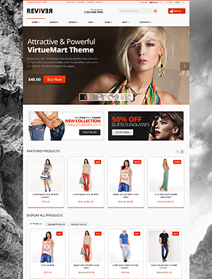 Reviver - Responsive Multipurpose VirtueMart Theme - 9