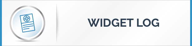 Widget Log Feature