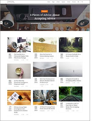 Crystal   Personal Blog WordPress Theme - 9