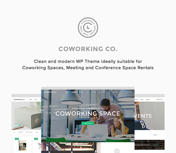 Coworking Co Creative Space Wordpress Theme By Highsea Themeforest